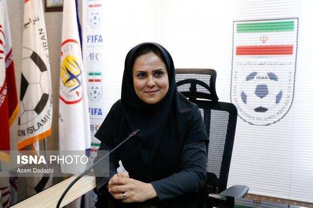 شهریاری: اگر مرد بودم بیشتر دیده می شدم، دیگر وقت حل شدن مسائل فوتبال ساحلی است