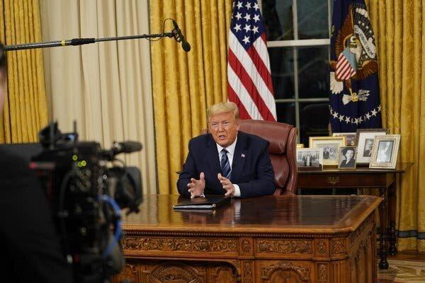 خبر فوری، ترامپ در برابر شیوع ویروس کرونا شرایط اضطراری اعلام می نماید